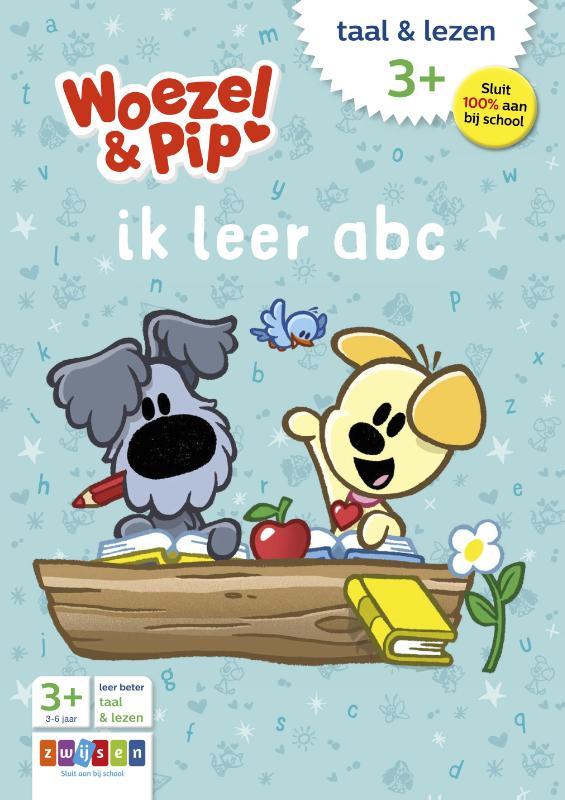 ,Woezel & Pip ik leer abc taal & lezen 3+
