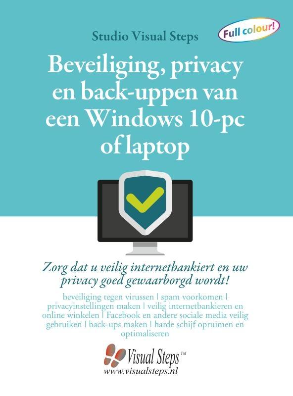 Studio Visual Steps,Beveiliging, privacy en back-uppen van een Windows 10-pc of laptop