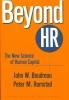 Boudreau, John W.,Beyond HR