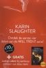 Karin  Slaughter ,Display: Triptiek ; Genesis ; Verbroken ; Versplinterd (3 ex. per titel)