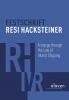,Festschrift Resi Hacksteiner