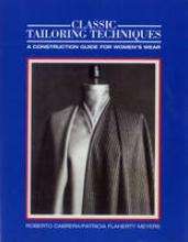 Cabrera, Roberto Classic Tailoring Techniques