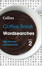 Collins Puzzles Coffee Break Wordsearches book 2