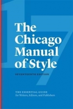 University of Chicago Press The Chicago Manual of Style