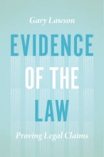 Lawson, Gary Evidence of the Law