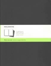 Moleskine Cahier Journal Extra Extra Large Plain Black