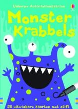 Monster Krabbels Activiteitenkaarten, alleen per set van 3ex
