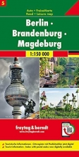 , Berlin - Brandenburg - Magdeburg, Autokarte 1:150.000, Blatt 5