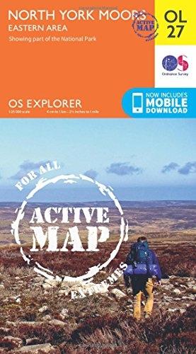 Ordnance Survey,North York Moors - Eastern Area
