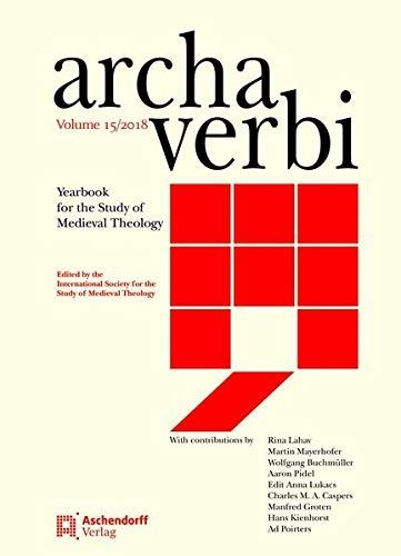 ,Archa Verbi, Volume 15/2018