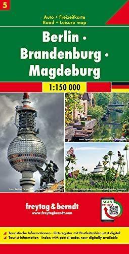 ,Berlin - Brandenburg - Magdeburg, Autokarte 1:150.000, Blatt 5