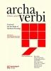 , Archa Verbi, Volume 15/2018