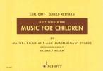 Orff, Carl,   Keetman, Gunild, Music for Children