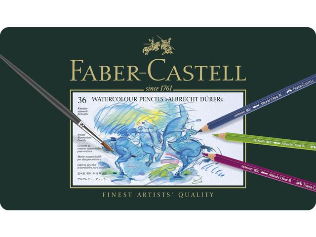 Fc-117536,Faber castell aquarelpotloden fc a.durer 36 st