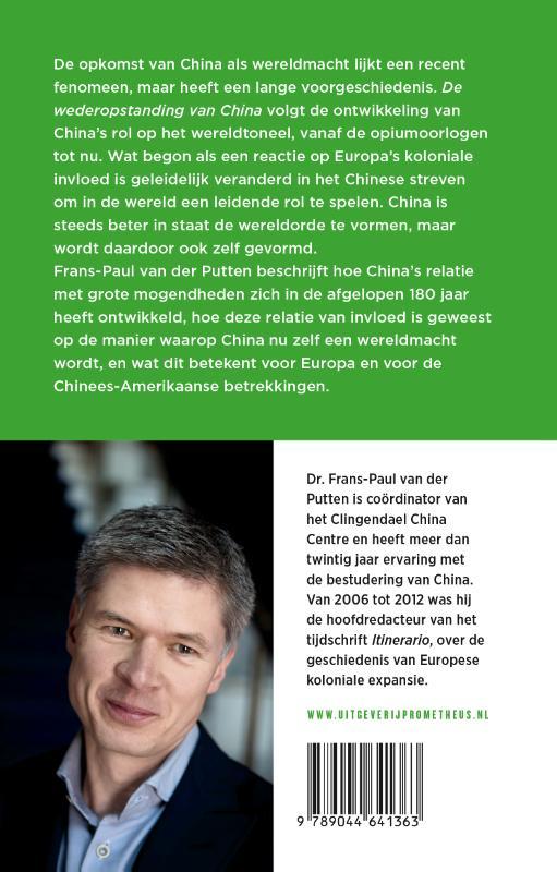 Frans-Paul van der Putten,De wederopstanding van China
