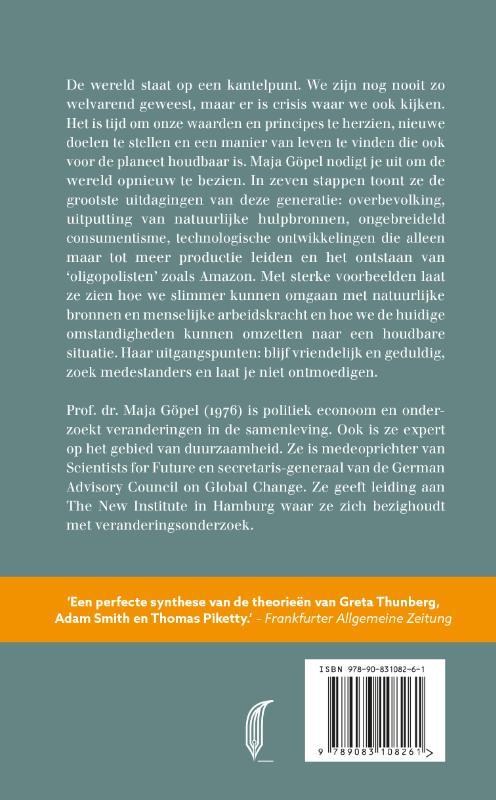 Maja Göpel,Onze wereld nieuw denken