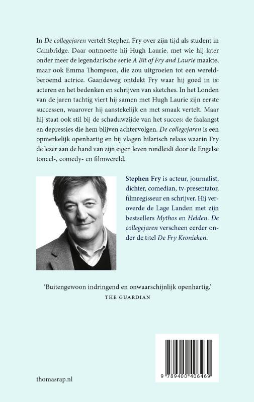 Stephen Fry,De collegejaren