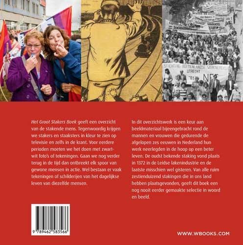 Sjaak van der Velden,Het groot stakers boek