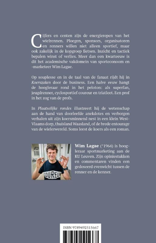 Wim Lagae,Koerszaken