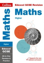 Collins GCSE Grade 9-1 GCSE Maths Higher Edexcel All-inOne Complete Revision and Practice (with free flashcard download)