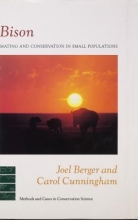 Carol Cunningham,   Joel Berger Bison