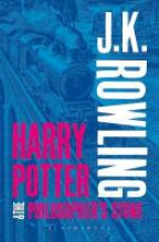 J.,K. Rowling Harry Potter and the Philosopher`s Stone (adult Paperback)