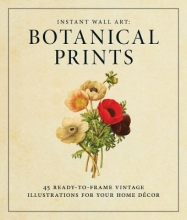 Instant Wall Art Botanical Prints