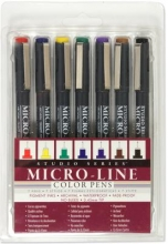 Studio Series Colored Micro-line Pen Set
