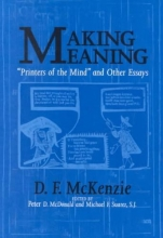McKenzie, D. F. Making Meaning