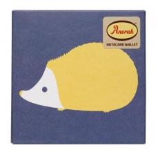 Anorak Kissing Hedgehogs Notecard Set