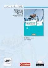 Koullen, Reinhold Schlüssel zur Mathematik 6. Schuljahr. Arbeitsheft mit eingelegten Lösungen und CD-ROM. Differenzierende Ausgabe Niedersachsen