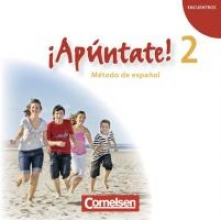 ¡Apúntate! - Ausgabe 2008 - Band 2 - Audio-CD