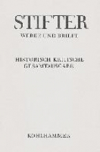 Stifter, Adalbert Werke und Briefe I/6. Studien, Buchfassungen III