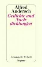 Andersch, Alfred Gedichte und Nachdichtungen