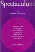Broch, Hermann Sieben moderne Theaterstücke