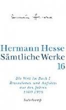 Hesse, Hermann Die Welt im Buch 1