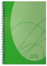 Wochentimer Flexi Colourlux grün 2016