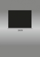 Foto-Bastelkalender 2020 silber datiert