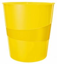 , Papierbak Leitz WOW 15liter geel