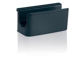 , Pennenhouder Sigel            voor glasborden van 3 tot 5mm                               antraciet 75x37x35mm bevestigi