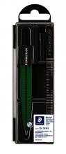 , Passer Staedtler 550 Noris schoolpasser metallic groen