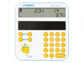 , Calculator Fiamo MATH TRAINER wit-blauw