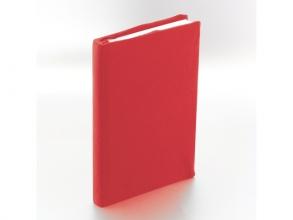 K-58605 , Rekbare boekenkaft rood a5 29x20 cm