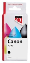 , Inktcartridge Quantore Canon PG-40 zwart