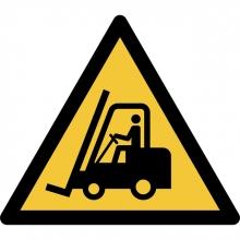 , Pictogram Tarifold waarschuwing transportvoertuigen 200x176mm