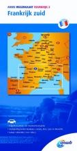 ANWB , ANWB wegenkaart Frankrijk 3. Frankrijk zuid
