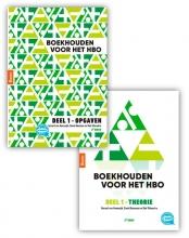 Gerard van Heeswijk , Boekhouden voor het hbo deel 1. Theorie- en opgavenboek