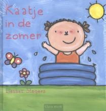 Liesbet  Slegers Kaatje pretpakket ( Kaatje in de zomer + stickerboek Kaatje + strandbal )