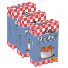 QUIZ IT junior - Rekenhutspot, 3-pack - QT153