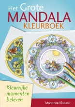 Marianne  Klooster Het grote mandalakleurboek